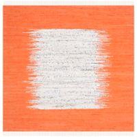 Safavieh Montauk 4' x 4' Beatrix Rug in Orange
