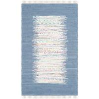 Safavieh Montauk 4' x 6' Beatrix Rug in Dark Blue