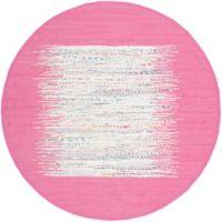 Safavieh Montauk 6' x 6' Beatrix Rug in Pink