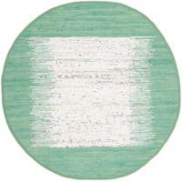 Safavieh Montauk 6' x 6' Beatrix Rug in Sea Green