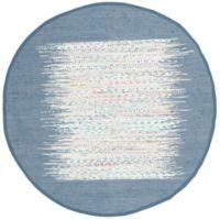 Safavieh Montauk 6' x 6' Beatrix Rug in Dark Blue