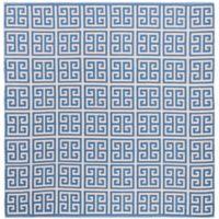 Safavieh Montauk 6' x 6' Garland Rug in Blue