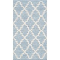 "Safavieh Montauk 2'3"" x 3'9"" Jolie Rug in Light Blue"