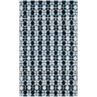 Safavieh Montauk 3' x 5' Savoy Rug in Ivory Blue