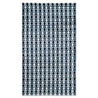 Safavieh Montauk 5' x 8' Savoy Rug in Ivory Blue