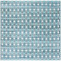 Safavieh Montauk 6' x 6' Savoy Rug in Turquoise