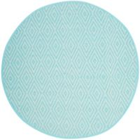Safavieh Montauk 6' x 6' Griffith Rug in Turquoise