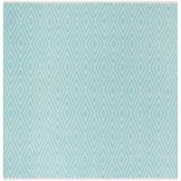 Safavieh Montauk 6' x 6' Griffith Rug in Turquoise
