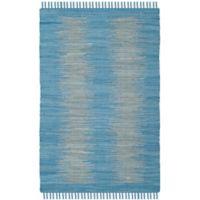 Safavieh Montauk 4' x 6' Easton Rug in Light Blue