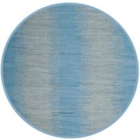 Safavieh Montauk 6' x 6' Easton Rug in Light Blue