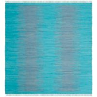 Safavieh Montauk 6' x 6' Easton Rug in Turquoise