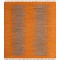 Safavieh Montauk 6' x 6' Easton Rug in Orange