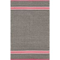Safavieh Montauk 4' x 6' Allison Rug in Light Pink