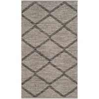 Safavieh Montauk 4' x 6' Crosby Rug in Black