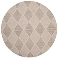 Safavieh Montauk 6' x 6' Foster Rug in Grey