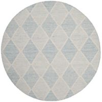Safavieh Montauk 6' x 6' Foster Rug in Light Blue