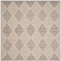 Safavieh Montauk 6' x 6' Foster Rug in Grey