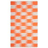 Safavieh Montauk 3' x 5' Barnet Rug in Orange