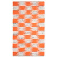 Safavieh Montauk 4' x 6' Barnet Rug in Orange