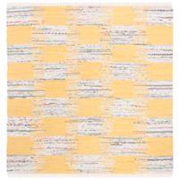 Safavieh Montauk 6' x 6' Barnet Rug in Yellow