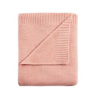 INK+IVY Bree Knit King Blanket in Coral