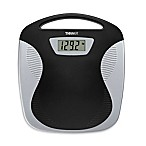 Conair® Thinner® Portable Digital Bathroom Scale in Black/Silver