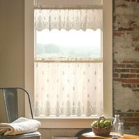 Heritage Lace® Welcome Window Valance in Ecru