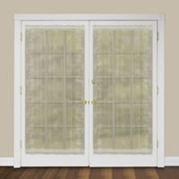 Heritage Lace® Sheer Divine 63-Inch Rod Pocket Door Panel in Ecru