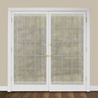 Heritage Lace® Sheer Divine 40-Inch Rod Pocket Door Panel in Flax