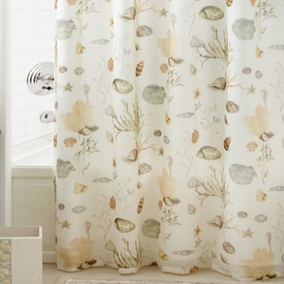 Product Image For Croscill® Chapel Hill Seashore Shower Curtain 2 Out Of