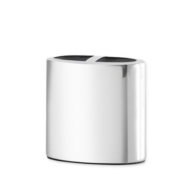 Croscill  Alloy Toothbrush Holder in Chrome. Buy Chrome Toothbrush Holder from Bed Bath   Beyond