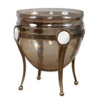 Uttermost Asmita Gold Glass Bowl