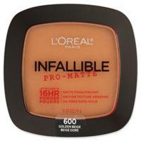 L'Oréal® Infallible® Pro-Matte Powder in Golden Beige
