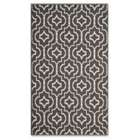 Safavieh Montauk 3' x 5' Sascha Rug in Dark Grey