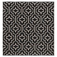 Safavieh Montauk 6' x 6' Sascha Rug in Black