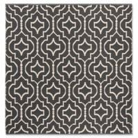 Safavieh Montauk 6' x 6' Sascha Rug in Dark Grey