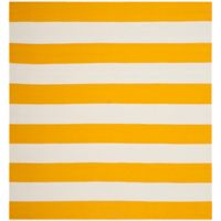 Safavieh Montauk 4' x 4' Saylor Rug in Yellow