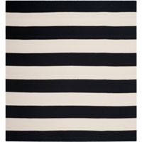 Safavieh Montauk 8' x 8' Saylor Rug in Black