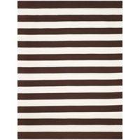 Safavieh Montauk 9' x 12' Saylor Rug in Chocolate