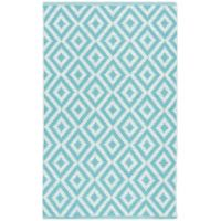 Safavieh Montauk 3' x 5' Samantha Rug in Light Blue