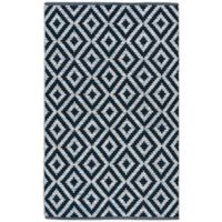 Safavieh Montauk 3' x 5' Samantha Rug in Navy