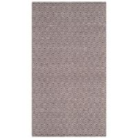 Safavieh Montauk 3' x 5' Rowan Rug in Chocolate