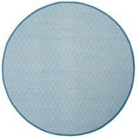 Safavieh Montauk 6' x 6' Rowan Rug in Light Blue