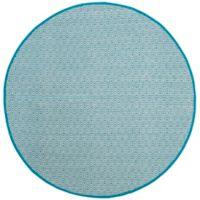 Safavieh Montauk 6' x 6' Rowan Rug in Turquoise