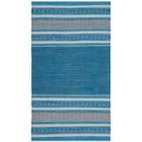 Safavieh Montauk 3' x 5' Savannah Rug in Blue