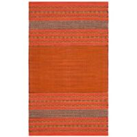 Safavieh Montauk 3' x 5' Savannah Rug in Orange