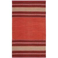 Safavieh Montauk 3' x 5' Savannah Rug in Red