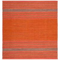 Safavieh Montauk 6' x 6' Savannah Rug in Orange