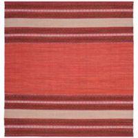 Safavieh Montauk 6' x 6' Savannah Rug in Red