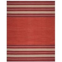Safavieh Montauk 8' x 10' Savannah Rug in Red